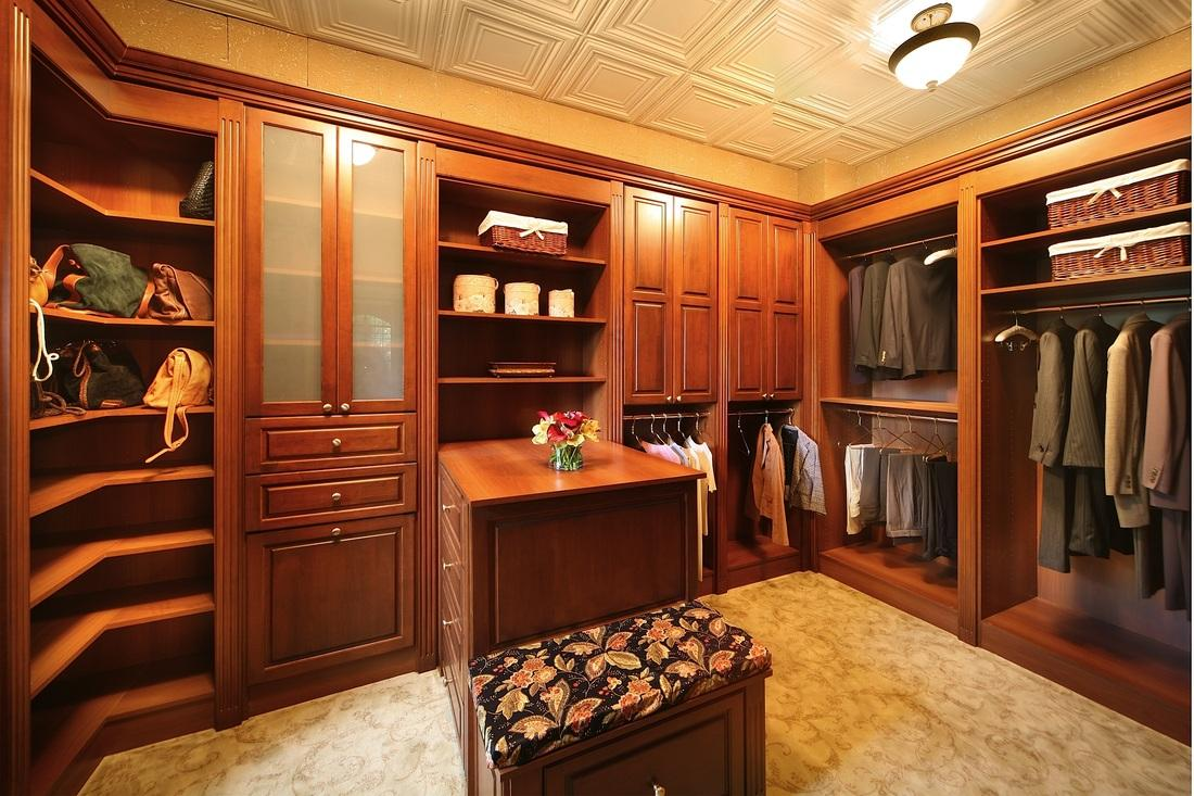 Custom Design Cabinetry Tacoma ~ Custom closets solid wood closet naples fl